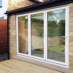 8ft white upvc bifold folding door set flying doors for 8ft bifold doors