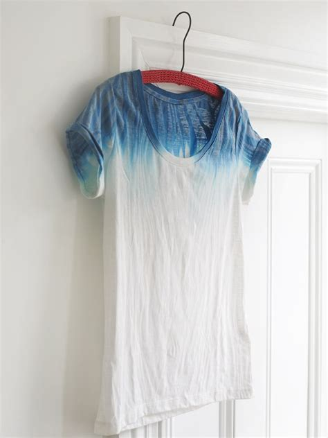 Diy Dip Dyed T Shirt From Sweet Paul Magazine Dying To