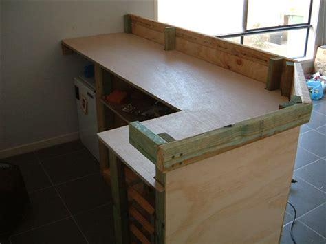 fabriquer un comptoir de cuisine en bois 2 plan pour
