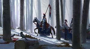 artwork, Fantasy Art, Knight, Knights, Horse, Snow, Trees ...
