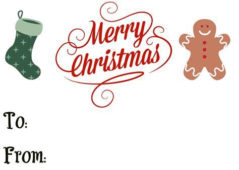 large printable merry christmas gift tags professional