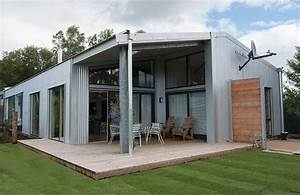 Metal barn homes the new trend in residential constructions for Converting metal building into house