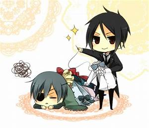 Sebastian and Ciel - Kuroshitsuji Photo (32066526) - Fanpop