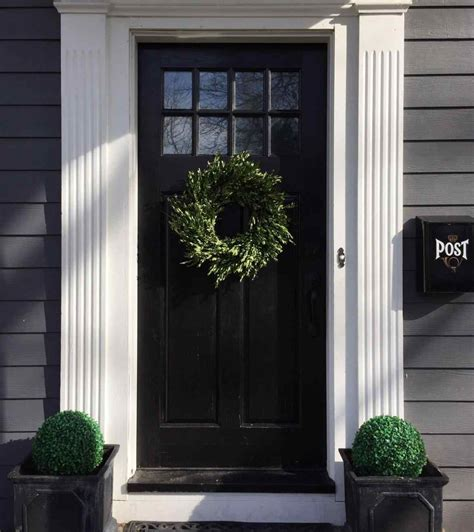 Doors Front Of House by Plants For Outside Front Door Breakpr