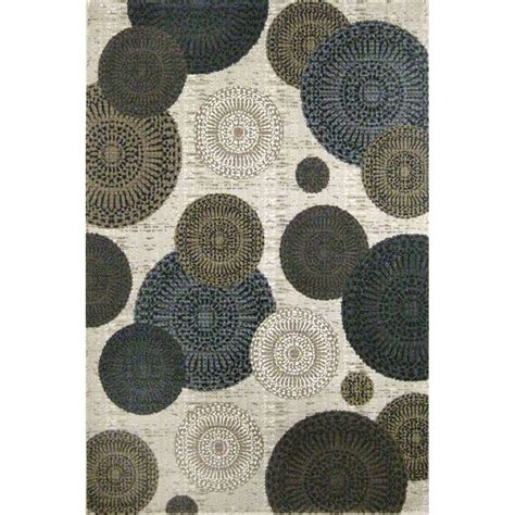 white and brown rug 8 x 11 large white brown and blue rug mystique rc