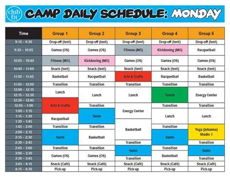 preschool summer camp schedule 25 best ideas about toddler daily schedules on 260
