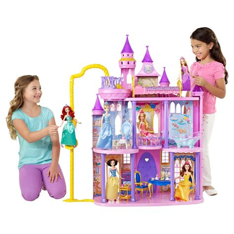 disney princess doll house disney princess ultimate castle dollhouse