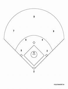 softball diamond template pictures to pin on pinterest With baseball position chart template