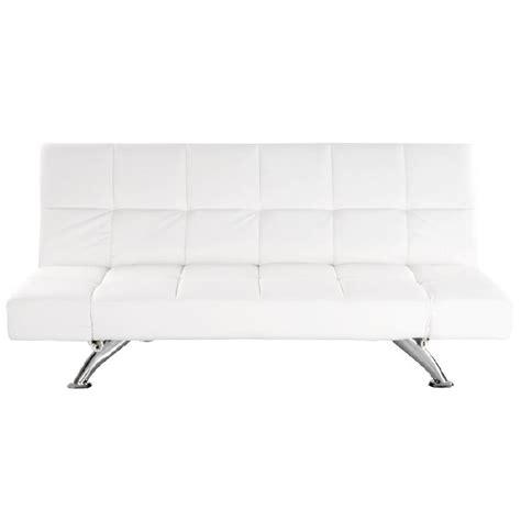 solde canape lit canapé lit convertible 39 kliklak 39 blanc en matière