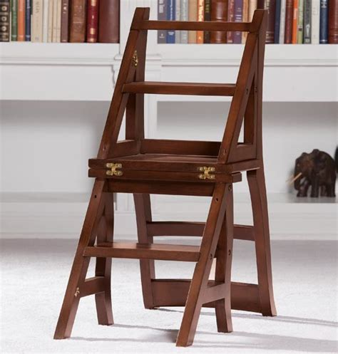 library ladder chair traditional ladders and step