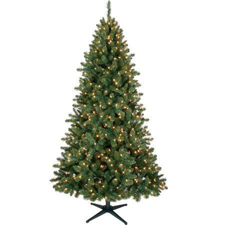 duncan fir tree time 7ft duncan fir set tree clr walmart