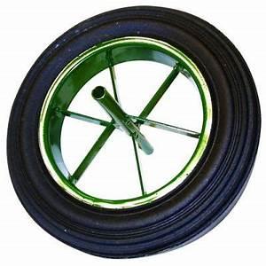 Roue De Brouette Bricomarché : roue pleine de 400 pour brouette 90 l axe de 20 lo achat ~ Melissatoandfro.com Idées de Décoration