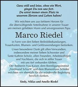 Super Sonntag Wittenberg : traueranzeigen von marco riedel ~ Watch28wear.com Haus und Dekorationen