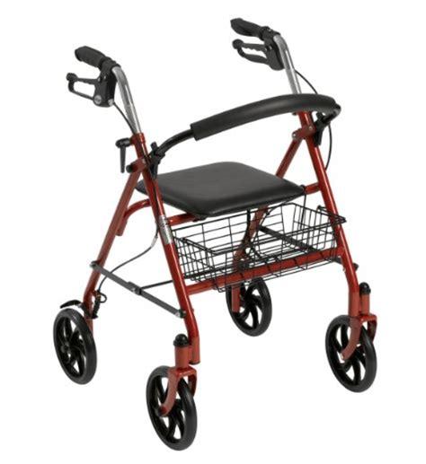 walker elderly forward traveling
