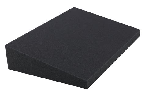 Stress Wedge Cushion In Grey