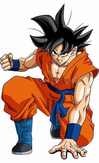 Goku Dragon Ball Transparent Gohan Super Dragonball