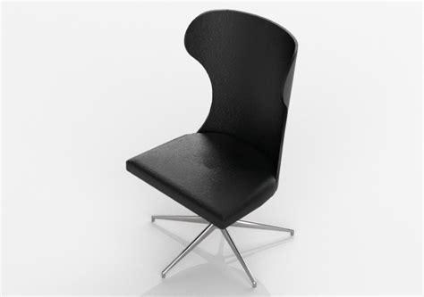 sedia 3d sedie 3d sedia girevole per ufficio 1618