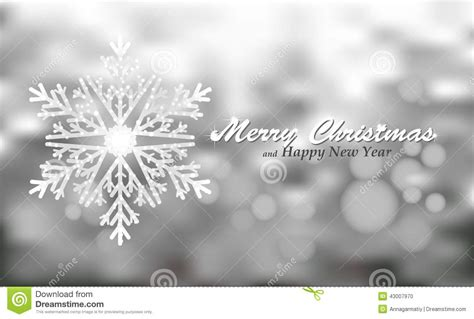 merry christmas silver background  snowflake stock