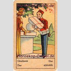 Horoskop Karte Das Geschenk  Glück Verschenken