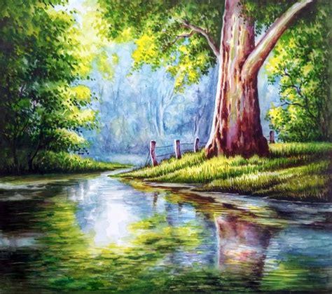 Buy Nature Watercolour Painting Handmade