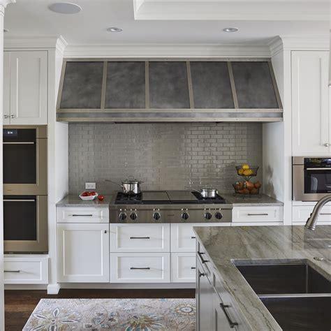 kitchen island range hoods zinc range hoods custom metal home