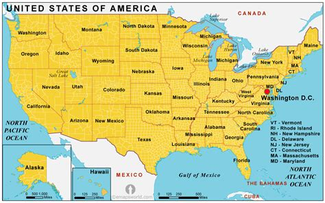 Umited States Map.Usa Map Bing Images