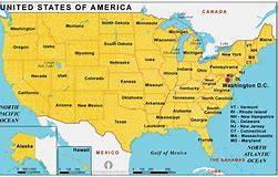 Unitted States Map.Usa Map Bing Images