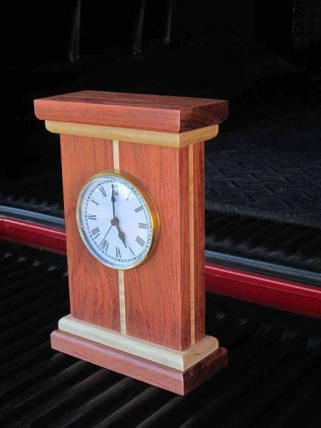 mantle clock woodworking project picture photo gallery
