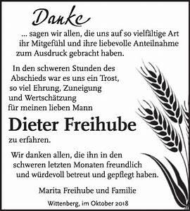 Super Sonntag Wittenberg : traueranzeigen von dieter freihube ~ Watch28wear.com Haus und Dekorationen