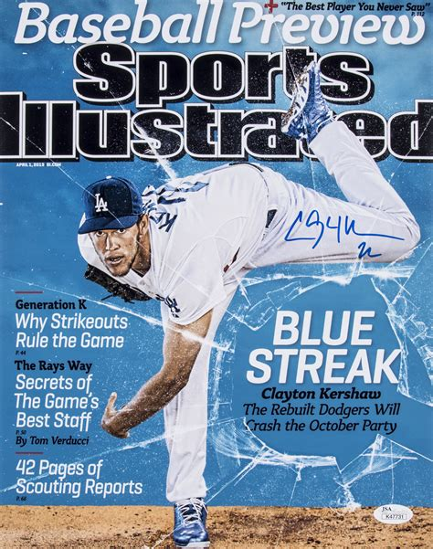 lot detail lot   sports illustrated autographed