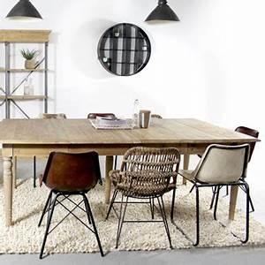 Chaise Industrielle Cuir : quelle chaise style industriel choisir pour un look atelier ~ Teatrodelosmanantiales.com Idées de Décoration