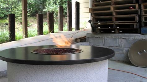 ethanol pit vulcan firepit ethanol outdoor firepit youtube