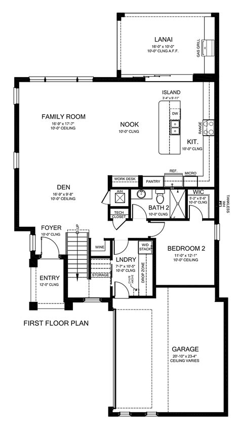 House Plan 50891 Mediterranean Style with 2843 Sq Ft 4