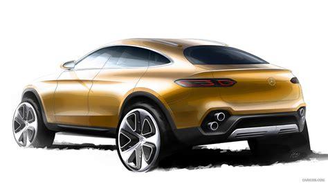 2018 Mercedes Benz Glc Coupe Concept Design Sketch Hd