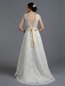 Ivory sleeveless lace wedding dress all over lace for All lace wedding dress