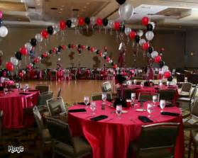centerpieces for class reunions names in balloons a bnc and more inc