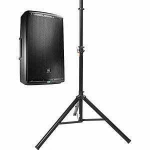 Jbl Jbl Eon615 Powered Speaker With Manual Tripod Kit B U0026h