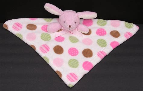 Blankets And Beyond Pink White Green Brown Polka Dot Bunny Baby Security Blanket Crochet Patterns For A Blanket Beach Bingo Soundtrack Super Easy Baby Free Knitting Blue Jean Teddy Size Of Pattern Dual Controlled Electric