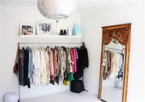 Cloth Wardrobe by A Simple Of Clothes On Display Tips Storage