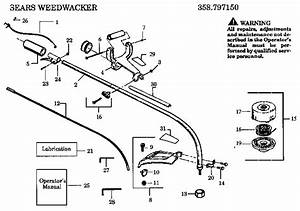 Craftsman 32cc Weedwacker Parts Diagram