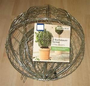 Buchsbaum Kugel Schneiden : buchsbaumformer kugel 2er set draht buchsbaum buchs former ~ Lizthompson.info Haus und Dekorationen