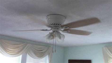 hunter oakhurst ceiling fan hunter oakhurst ceiling fan w bad capacitor youtube