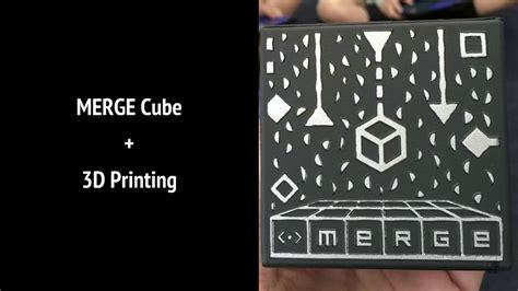 printing  merge cube youtube