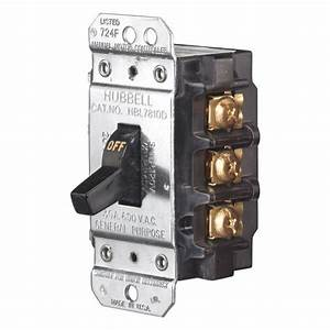 Hbl7810d Hubbell Manual Motor Disconnect Switch