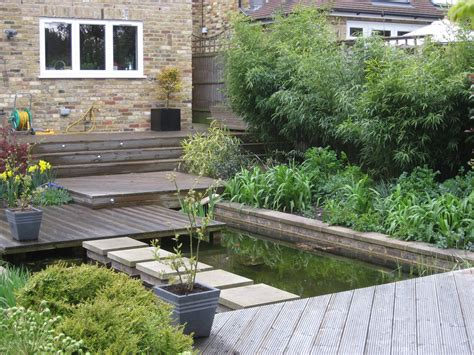 sloped garden ideas designs decking sloping garden designs pdf