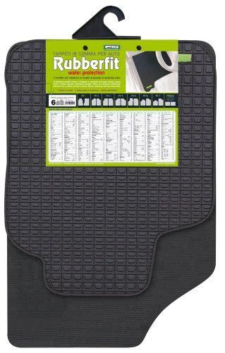 tappeti per auto prezzi cora 000134016 coppia tappeti anteriori rubberfit fit 6