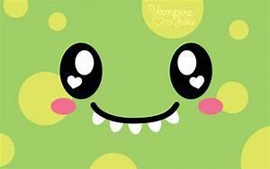 Cute Monster Wallpaper - WallpaperSafari