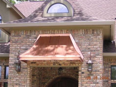 custom  copper awnings  classic copper works custommadecom