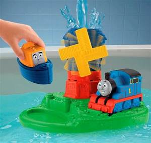 Thomas the train island of sodor bath playset for Thomas the train bathroom set