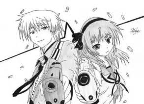 Anime Boy and Girl with Guns